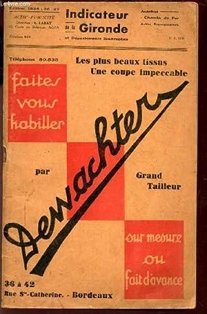 FAITES VOUS HABILLER PAR DEWACHTER, GRAND DTAILLEUR SUR LESURE OU FAIT D'1AVANCE / INDICATEUR ...