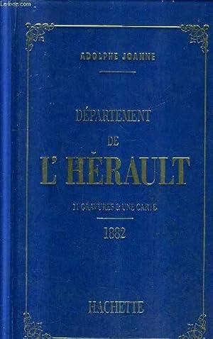 Géographie du département de l'Hérault : avec une carte coloriée et 11 gravures