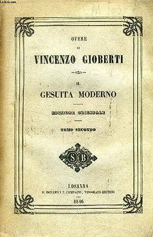 IL GESUITA MODERNO, TOMO II: GIOBERTI VINCENZO