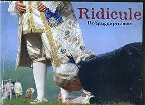 PLAQUETTE DE FILM - RIDICULE - un film de patrice leconte avec fanny ardant, charles berling, ...