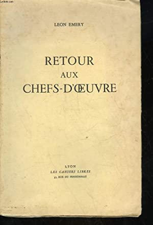 RETOUR AUX CHEFS-D'OEUVRE: EMERY LEON