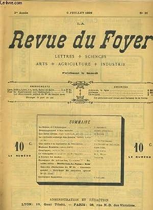 LA REVUE DU FOYER. LETTRES, SCIENCES, ARTS, AGRICULTURE, INDUSTRIE. 2e annee N° 36. LA SUISSE ...