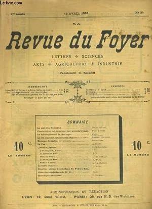LA REVUE DU FOYER. LETTRES, SCIENCES, ARTS, AGRICULTURE, INDUSTRIE. 2e annee N° 24. LE DEBARQUEMENT...