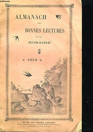 ALMANACH DES BONNES NECTURES ET DU ROSAIRE. 1912: COLLECTIF
