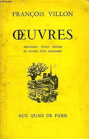 OEUVRES: VILLON FRANCOIS