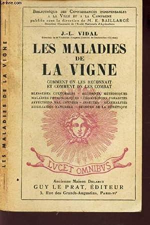 LES MALADIES DE LA VIGNE - COMMENT: VIDAL J.L.