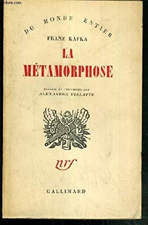 LA METAMORPHOSE / COLLECTION DU MONDE ENTIER: KAFKA FRANZ