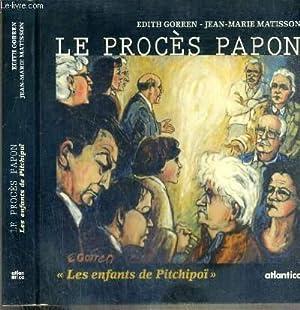 LE PROCES PAPON - UN PROCES POUR: GORREN EDITH -