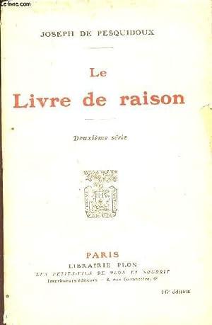 LE LIVRE DE RAISON -: DE PESQUIDOUX JOSEPH