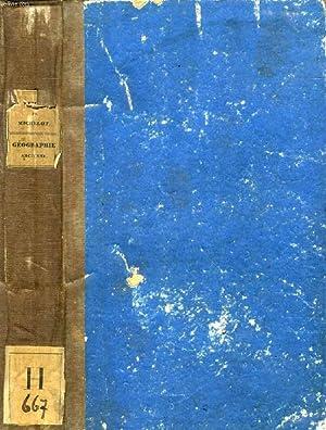 GEOGRAPHIE ANCIENNE COMPAREE AVEC LA GEOGRAPHIE MODERNE: MEISSAS M., MICHELOT M.