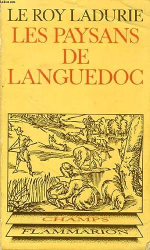 LES PAYSANS DE LANGUEDOC: LE ROY LADURIE EMMANUEL