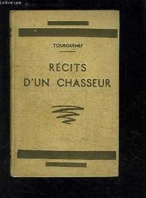 RECITS D UN CHASSEUR: TOURGUENEV IVAN