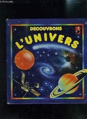 DECOUVRONS L UNIVERS: COLLECTIF