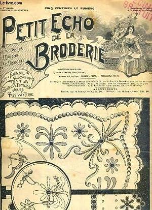 PETIT ECHO DE LA BRODERIE - N°: MARIE C. /