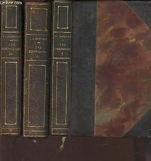 LES CONFESSIONS - EN 3 VOLUMES /: ROUSSEAU J.J.
