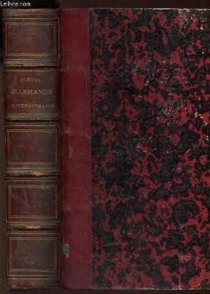 AMARANTH + LES POETES CONTEMPORAINS DE L'ALLEMAGNE: DE REDWITZ OSCAR / MARTIN N.