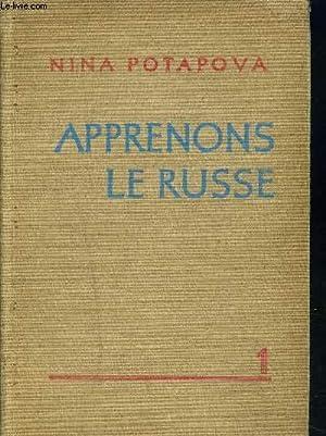 APPRENONS LE RUSSE: POTAPOVA NINA