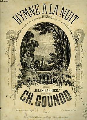 HYMNE A LA NUIT - N°1 : GOUNOD CH.