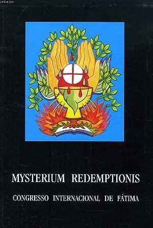 MYSTERIUM REDEMPTIONIS, CONGRESSO INTERNACIONAL DE FATIMA: COLLECTIF