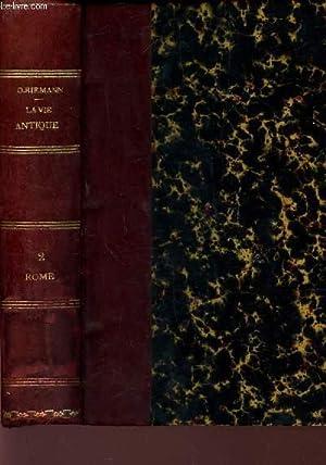 ROME TOME 2 (2e PARTIE) /COLLECTION Architecture: RIEMANN O /
