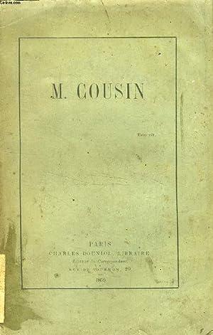 M. COUSIN: COLLECTIF
