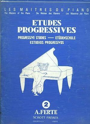 ETUDES PROGRESSIVES / PROGRESSIVE STUDIES / ETUDENSCHULE / ESTUDIOS PROGRESIVOS - N&...
