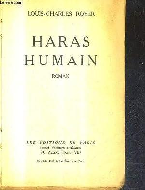 HARAS HUMAIN - ROMAIN.: ROYER LOUIS CHARLES