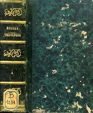 THEOLOGIA DOGMATICA ET MORALIS AD USUM SEMINARIORUM, T. VII-VIII (1 VOL.): BAILLY, RECEVEUR D.