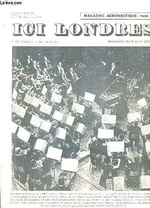 ICI LONDRES N°454 19 OCTOBRE 1956 -: COLLECTIF