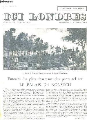 ICI LONDRES N°404 4 NOVEMBRE 1955 -: COLLECTIF