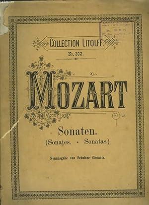 SONATEN / SONATES / SONATAS - POUR PIANO.: MOZART