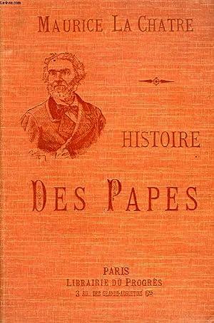 HISTOIRE DES PAPES, MYSTERES D'INIQUITES DE LA COUR DE ROME, CRIMES DES ROIS, DES REINES ET ...