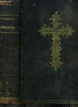Missale Romanum, ex decreto sacrosancti Concilii Tredentini: COLLECTIF