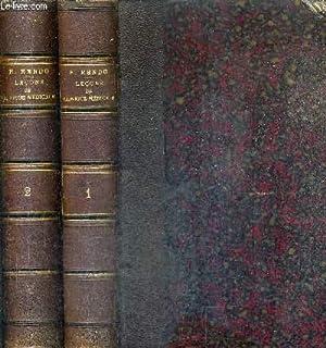 LECONS DE CLINIQUE MEDICALE / EN DEUX TOMES / TOMES 1 + 2.: H.RENDU