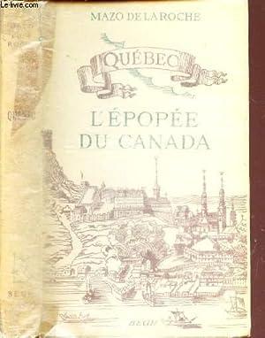 L'EPOPEE DU CANADA: DE LA ROCHE MAZO