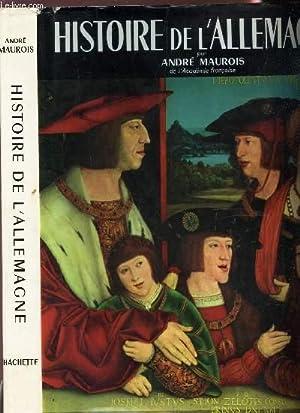 HISTOIRE DE L'ALLEMAGNE: MAUROIS ANDRE