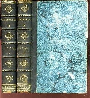 OEUVRES DE J.J. ROUSSEAU / VOLUMES 8: ROUSSEAU J.J.