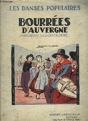 BOURREES D AUVERGNE- LES DANSES POPULAIRES: J.CANTELOUBE