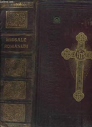 MISSALE ROMANUM Ex decreti eacrosancti concili tridentini: COLLECTIF