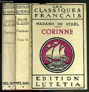CORINNE OU L'ITALIE - 2 TOMES - 1 + 2: STAEL MADAME DE