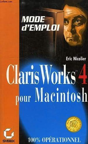 CLARIS WORKS 4 POUR MAC: NICOLIER ERIC