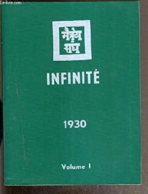 INFINITE 1930 - VOLUME 1: COLLECTIF