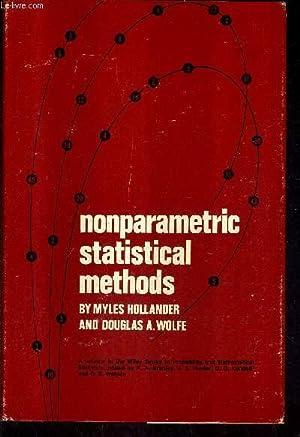 NONPARAMETRIC STATISTICAL METHODS.: HOLLANDER MYLES & A.WOLFE DOUGLAS