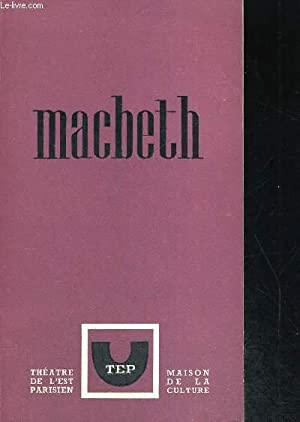 MACBETH: SHAKESPEARE WILLIAM
