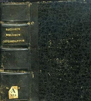 SACRORUM BIBLIORUM VULGATAE EDITIONIS CONCORDANTIAE, AD RECOGNITIONEM: COLLECTIF