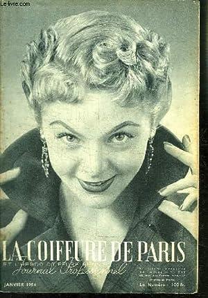REVUE MENSUELLE: LA COIFFURE DE PARIS- JOURNAL PROFESSIONNEL / N° 512 / JANVIER 1954:...