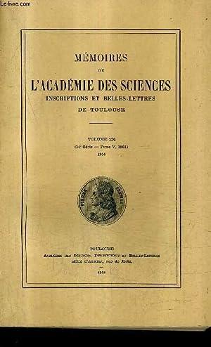 MEMOIRES DE L'ACADEMIE DES SCIENCES INSCRIPTIONS ET: COLLECTIF