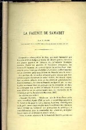 LA FAIENCE DE SAMADET - 1890-1891: PICOT M.