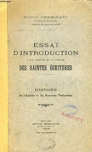 ESSAI D'INTRODUCTION A LA LECTURE ET A: CHEMINANT PIERRE