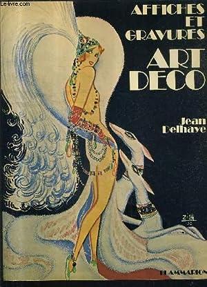 AFFICHES ET GRAVURES ART DECO.: DELHAYE JEAN